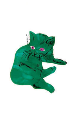Untitled (Green Cat); c. 1956