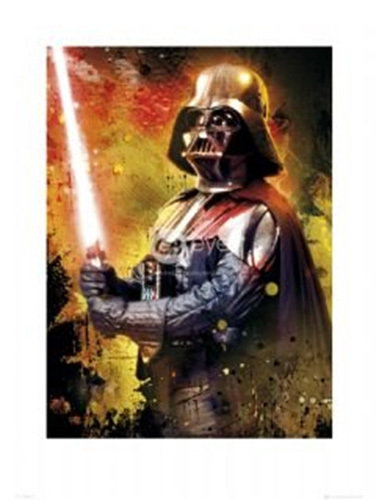 Star Wars darth Vader splatter