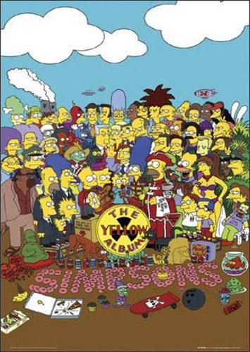 the Simpsons - Yellow Album