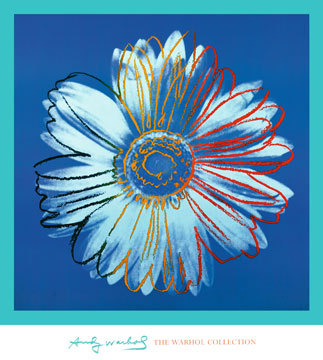 Daisy, 1982 (blue on blue)