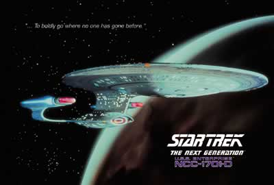 Star Trek USS ENTERPRISE (1701-D) - the Next Generation