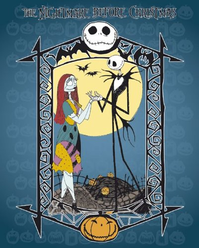 Nightmare before Christmas (blue)