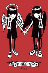 Emily the Strange - Friendship (Angel & Devil)