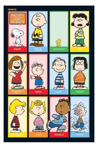 Peanuts Figuren Namen