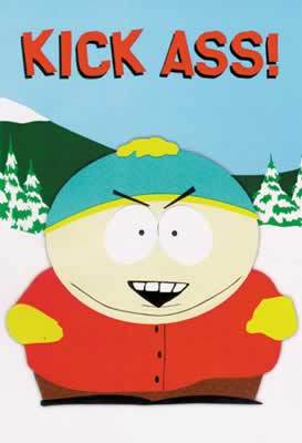South Park - Kick Ass (cartman)