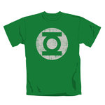 The green Lantern - distress logo