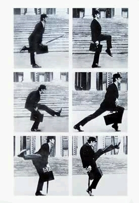 Ministry of Silly Walks Collage