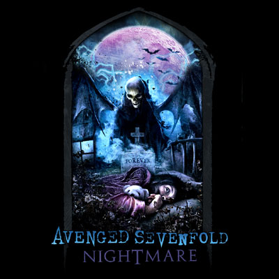 a7x nightmare cover art 2010 avenged sevenfold album nightmarecover love this album great songs on there like welcome to the family avenged sevenfold - nightmare music cd album at cd universe, produced by mike elizondo dr, dre, eminem and mixed by noted engineer andy wallace, the new avenged.