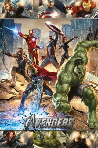 The Avengers - action (2012)
