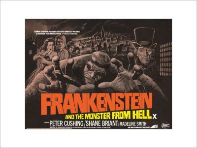 FRANKENSTEIN-AND-THE-MONSTER-FROM-HELL (Hammer)