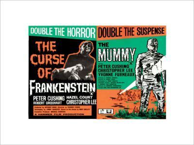 FRANKENSTEIN-AND-THE-MUMMY (Hammer)