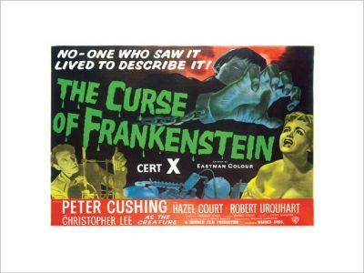 THE-CURSE-OF-FRANKENSTEIN (Hammer)
