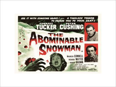 THE-ABOMINABLE-SNOWMAN (Hammer)
