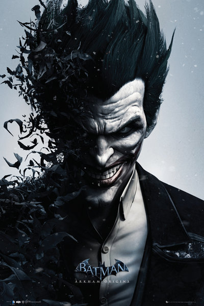 Batman Arkham Origins - Joker Bats