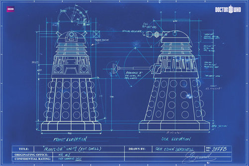 Doctor Who - Dalek Blueprint