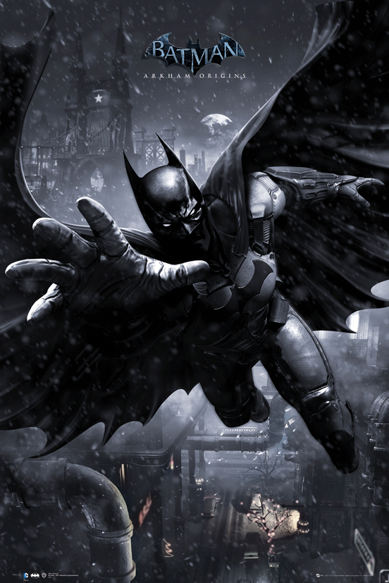 Batman Arkham Origins - Batman Swing