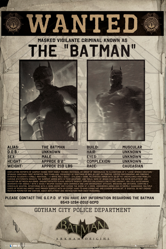 Batman Arkham Origins - Wanted