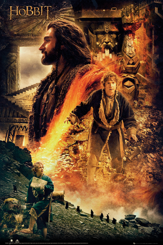 THE HOBBIT - Desolation of Smaug Fire