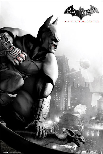 BATMAN ARKHAM CITY - Cover