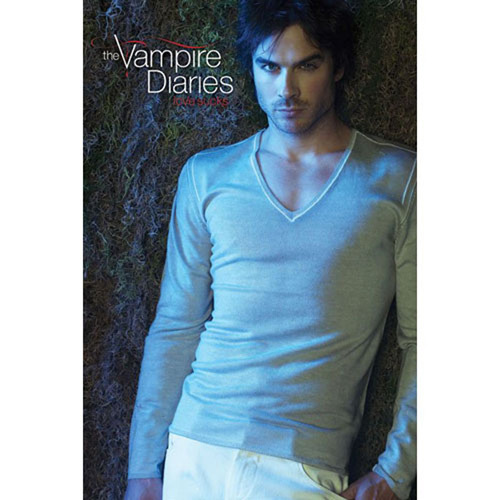 The Vampire Diaries - Damon Salvatore Love Sucks