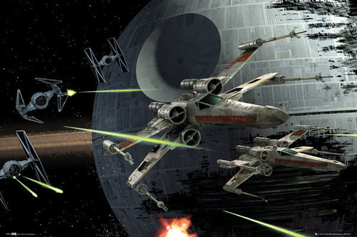 STAR WARS - Death Star Battle