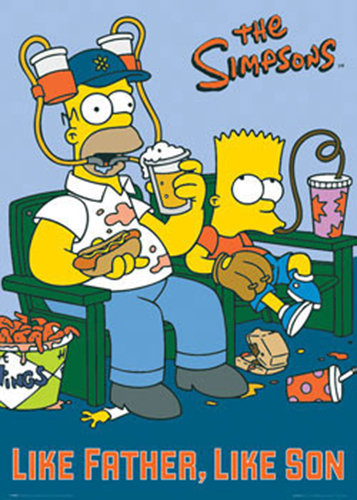 The Simpsons - like Father